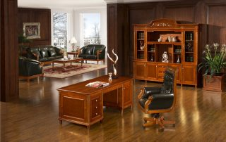 Classical Wooden Office Table