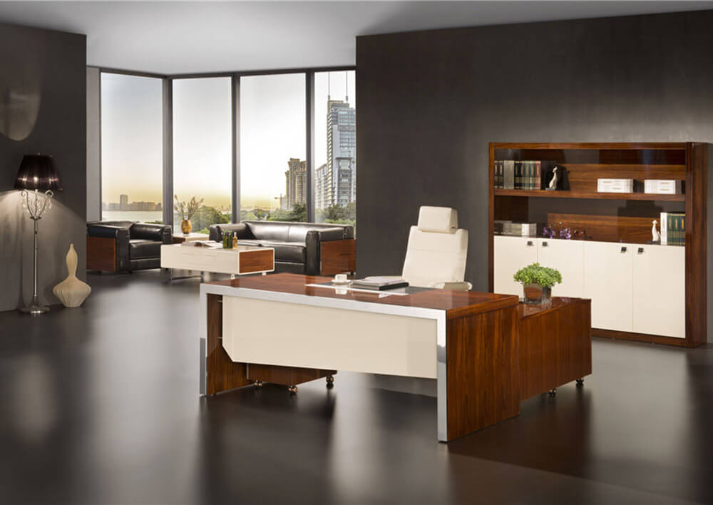 L-Shape Executive Office Desk