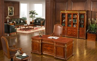 Fashionable Wooden Executive Office Desk 0816