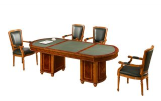 RAFFELLO 0809 High End Luxury Wooden Conference Table