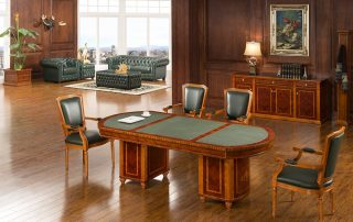 High End Luxury Wooden Conference Table