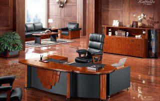 Rolls 6832 L Shape Luxury Standard Executive Office Desk