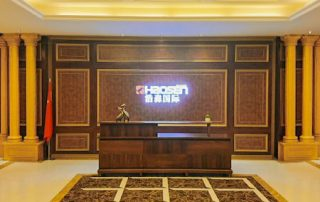 Haosen office furniture and furniture exhibition hall